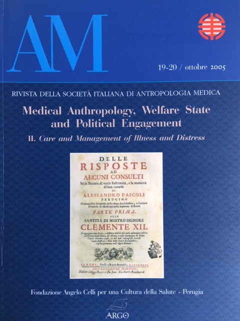 Care and management antropologica medica II